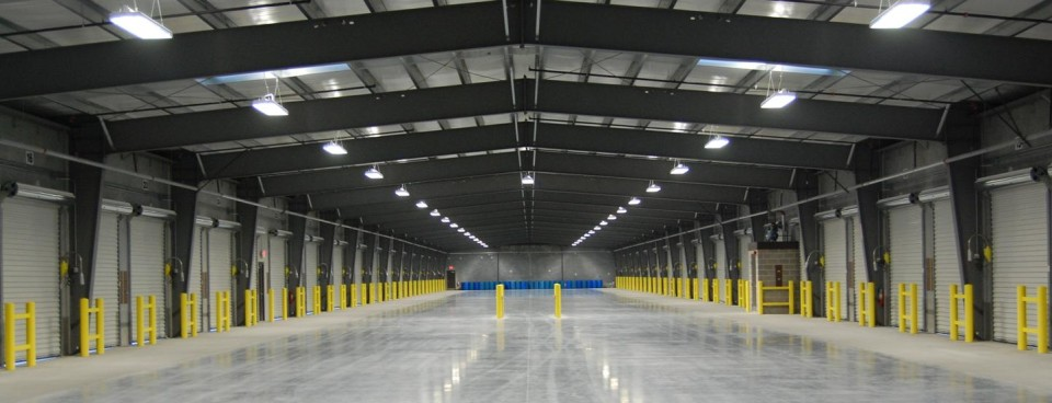 Commercial building energy efficiency lighting retrofit